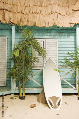 Photo Sandy beach bungalow