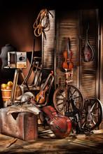 Still Life With Musical Instru...