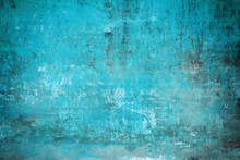 Real Wall Background, Light Blue, Gungy Texture.