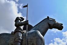 Jost Moravsky Sculpture In Brno, South Moravia, Czech Republic