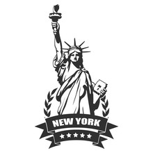 New York City.Statue Of Liberty
