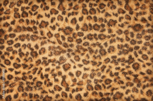 Deurstickers Luipaard fabric pattern leopard pattern for background and texture