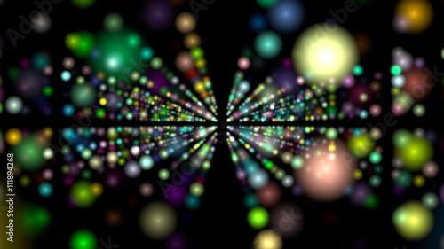 Photo  color dots