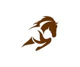Fototapeta Konie - Horse logo