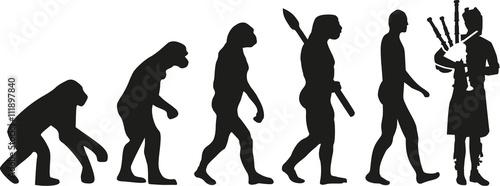 Foto Bagpipe evolution