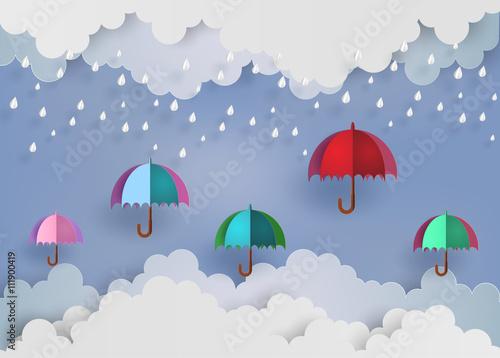 kolorowy-parasol-w-powietrzu-z-rainni