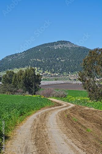 Fényképezés Mount Tabor in Israel