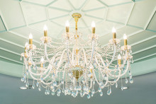 Chandelier In Classicroom Shin...