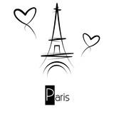 Fototapeta Wieża Eiffla - Paris - Eiffel Tower