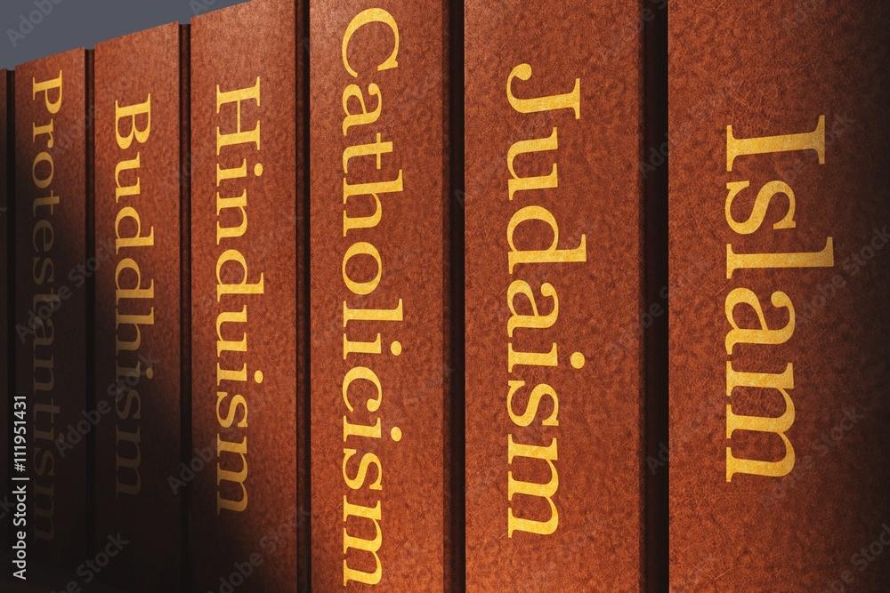 Fototapety, obrazy: Weltreligionen - Bücher