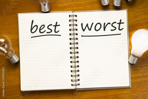 Fotografía  Best and Worst