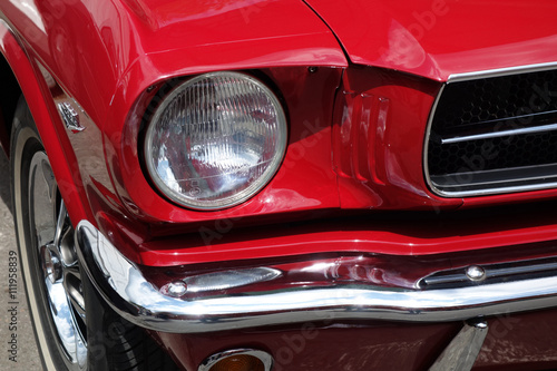 Ford Mustang 1965 Canvas Print