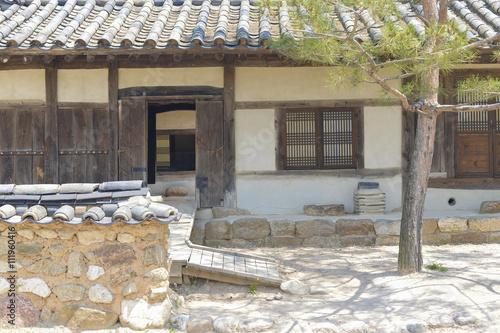 Foto op Canvas Tuin SEOUL,South Korea - MAY 22: Hahoe Folk village in South Korea. M