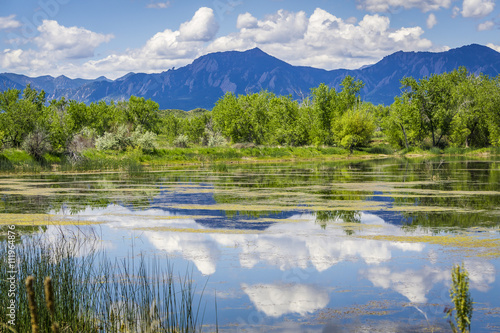 Walden Pond Reflections in Boulder Colorado