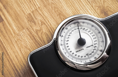 weight scale Wallpaper Mural