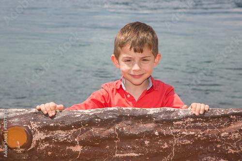 Photo  Gülümseyen çocuk