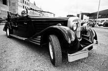 Black Luxury Classic Car