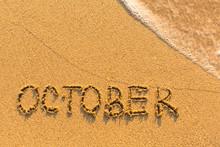 October - Inscription On Sand ...
