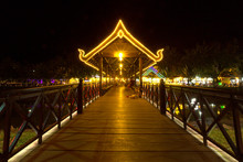 Siem Reap Night View With Colo...