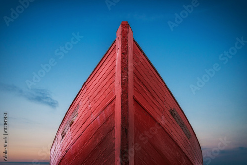 Foto  Das rote Boot