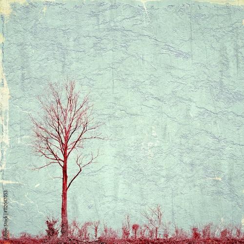 surrealistyczny-krajobraz-z-czerwonym-pojedynczym