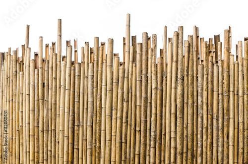 Montage in der Fensternische Bambus bamboo fence background