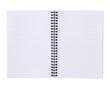 Leinwanddruck Bild Lined notebook