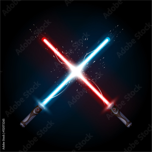 Photographie  picture of sabers