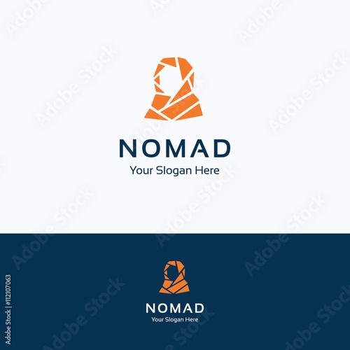 Obraz na płótnie Nomad logo