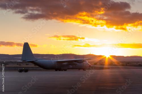 Fotografie, Obraz Hercules aircraft V