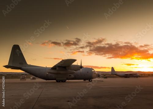 Obraz na plátně  Hercules aircraft VI