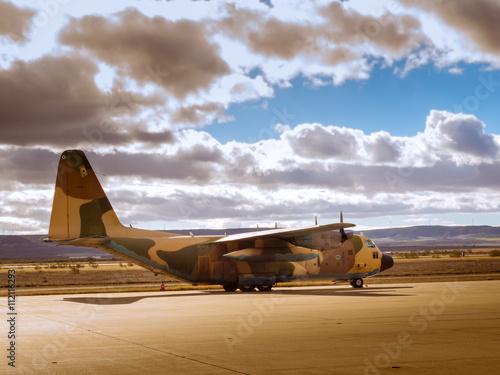 Fotografie, Obraz  Hercules aircraft IV