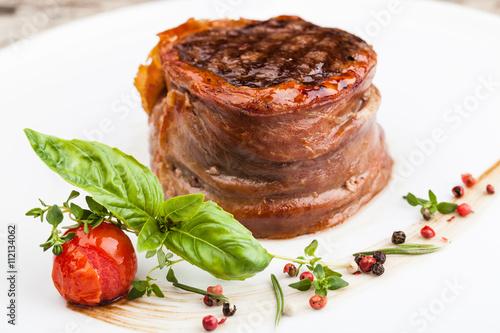 Photo  grilled fillet steak