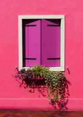 Panel Szklany Podświetlane Kolorowe domki Burano