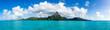 canvas print picture - Mont Otemanu des Bora Bora Atolls in Französisch Polynesien