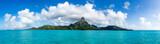 Mont Otemanu des Bora Bora Atolls in Französisch Polynesien