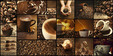 Coffee, Themed Collage