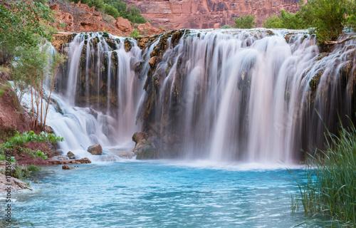 Wall Murals Waterfalls Little Navajo Falls Panorama