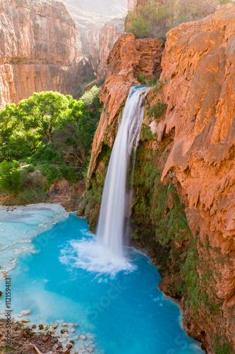 Fototapeten Wasserfalle Havasu Falls and Pool