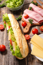Sandwich With Ingredients