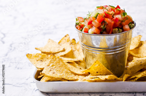 Poster Pays d Asie Fresh homemade salsa