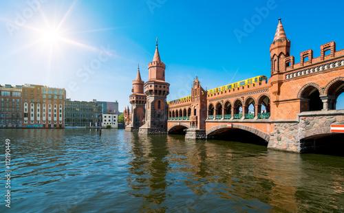 Zdjęcie XXL Berlin Oberbaumbrücke