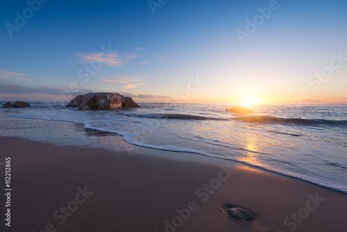 Papiers peints Morning Glory plage coucher de soleil