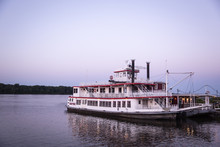 Mark Twain River Boat On The MIssissippi