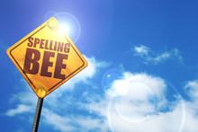 Spelling Bee, 3D Rendering, Gl...