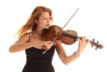 Dynamisches Geigenspiel Einer ...