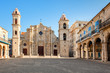 The Cathedral of Havana in Cuba