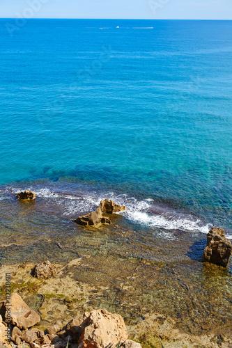Photo  Denia Las rotas beach near Sant Antonio cape