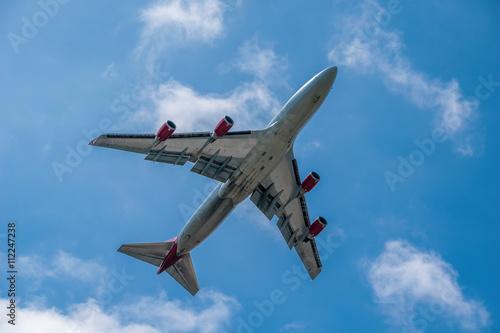 Tela Boeing 747