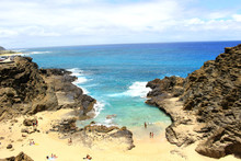Hawaii Halona Beach Cove